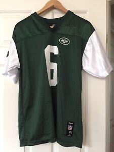dfdf19857 Reebok NFL New York Jets Sanchez Football Jersey  6 Size 16-18 XL