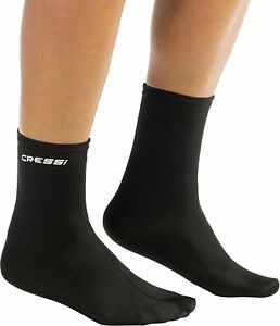Cressi Elastic Water Sport Adult Socks for Snorkeling, Scuba Diving