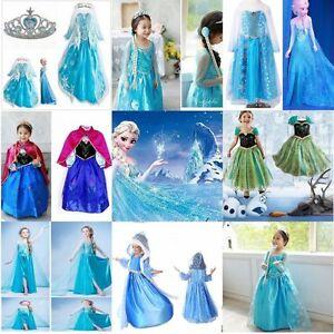 robe deguisement costume la reine des neiges frozen - Reine Ds Neiges