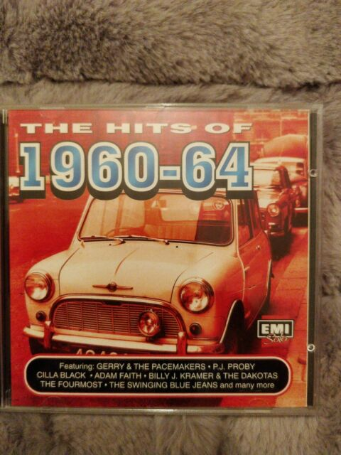 Various Artists : The Hits of 1960-64 : 20 Track CD