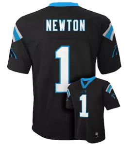 NWT 60  Boys Carolina Panthers Cam Newton NFL Jersey Black T-shirt ... 8b478f0ca