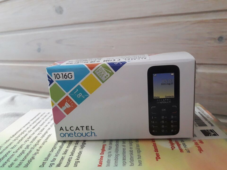 Alcatel One Touch 1016G (ny - stadig plomberet), Perfekt