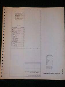 1982 ford fairmont futura mercury zephyr electrical wiring diagram pontiac fiero wiring diagram image is loading 1982 ford fairmont futura mercury zephyr electrical wiring