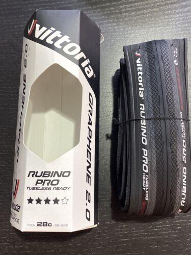 Vittoria Rubino Pro IV Tire 700 X 28 C Tubeless Ready Folding Black