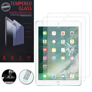 2x-vetro-antiproiettile-per-Apple-iPad-9-7-2017-vero-pellicola-protettiva