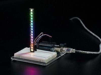 Adafruit NeoPixel Stick 8 x WS2812 5050 RGB LED Strip Driver for Arduino r3
