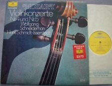 WOLFGANG SCHNEIDERHAN Mozart Violin Concerto 4 and 5 NEAR MINT UK DG