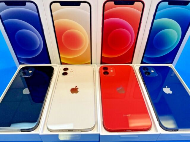 New Apple iPhone 12 - 64gb - Unlocked - Factory Warranty All Colors 🔴⚪️🔵⚫️