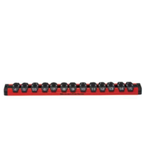 Mechanics Time Saver MTS-LAS14MR 1//4in Drive Lock-a-socket Metric Red