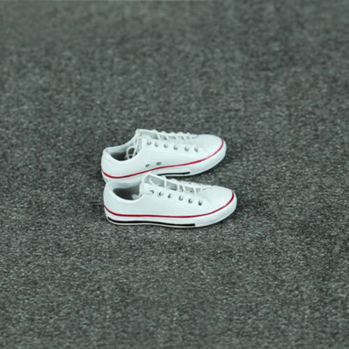 "1//6 Scale Female Sport shoes White Sneakers For 12/"" Female Hot Toys Figure"