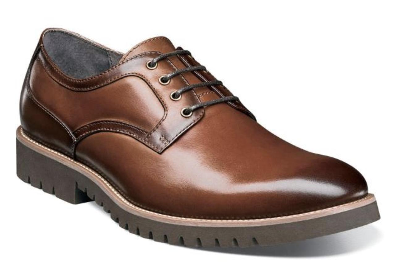 alto sconto Stacy Adams Barclay Uomo scarpe scarpe scarpe Plain Toe Oxford Cognac 25230-221  da non perdere!