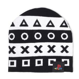 Symbols Hat,Cap Sony PlayStation Official Beanie