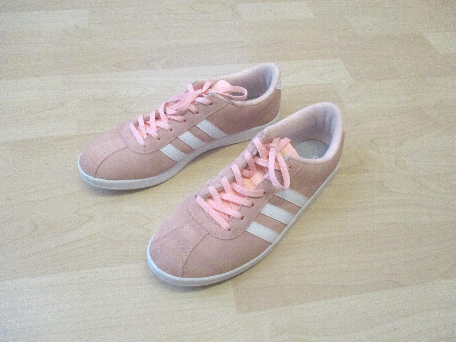 Adidas Neo VL Court W Damensneaker, rosa, Größe 40, wie neu