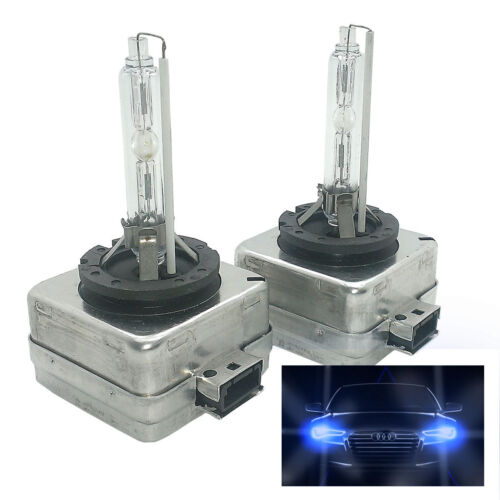 2x HID Xenon Headlight Bulb 8000k Blue D1S Fits VW AMD1SDB80VW