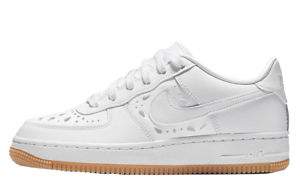 Nike Air Force 1 Low Boys Grade School Shoes Size 7y for