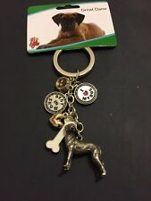 Brand New Dog Keyring Great Dane Gift Present Animal Lover