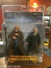 "NECA Harry Potter Half Blood Prince 6"" Figure MOC - MAD-EYE & DRACO MALFOY"