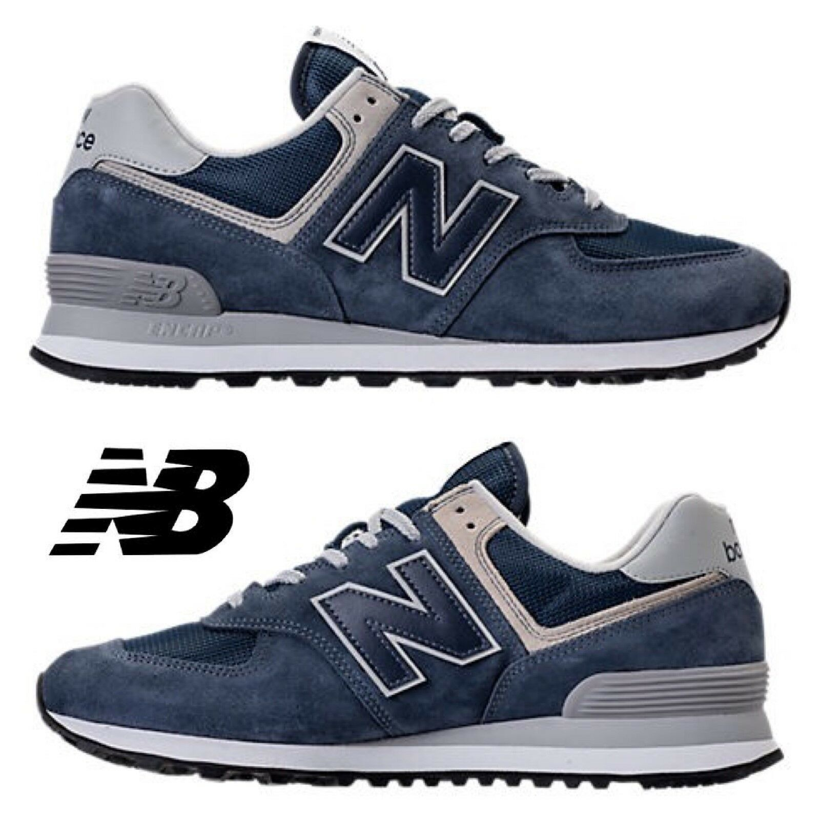 New Balance 574 Men's Sneakers Casual Shoes Running Premium Comfort Sport NIB