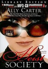 Heist Society by Ally Carter (2010, MP3 CD, Unabridged)