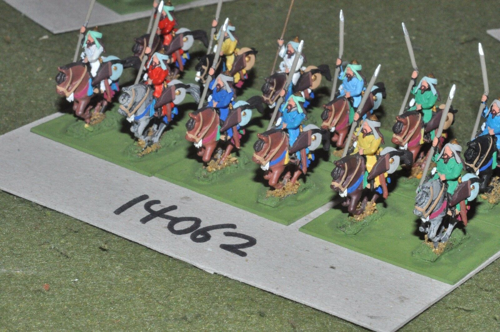 15mm medieval   turkish - seljuk cavalry 12 cavalry - cav (14062)