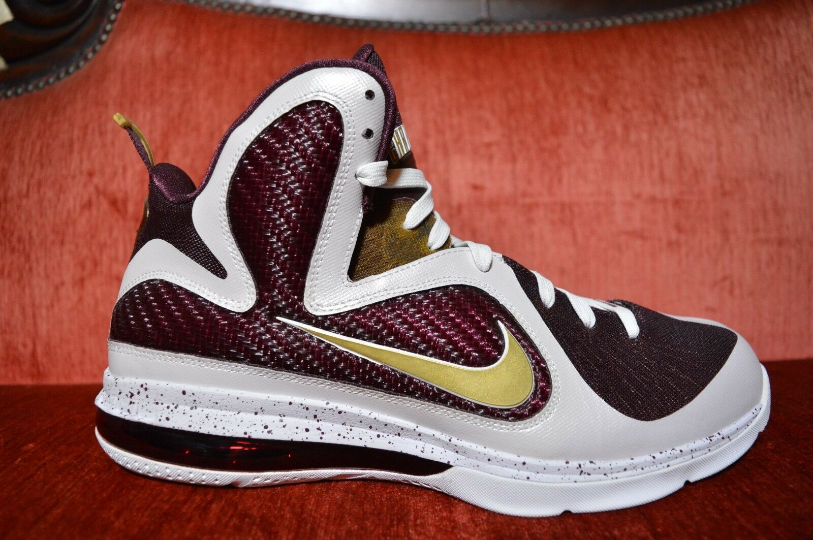 NEW Nike Lebron 9 IX CTK Christ The King PE PROMO SAMPLE Size 11 HOME 2012