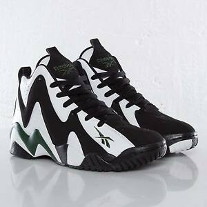 c337b9191cf New REEBOK KAMIKAZE II 2 Green Super Sonics SHAWN KEMP Retro Mens ...