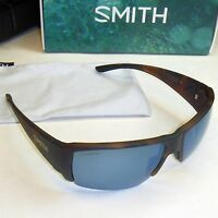 Smith Captain's Choice Sunglasses-havana/chromapop Polarized Blue Mirror Lens