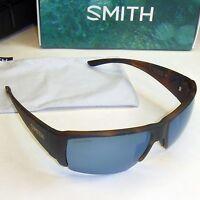 Smith Captain's Choice Sunglasses-havana/chromapop Polarized Blue Mirror Lens