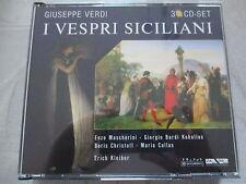 Verdi - I Vespri Siciliani - Kleiber, Callas, Mascherini, Kokolios - 3 CD s
