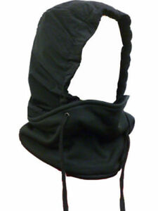 Unisexe-echarpe-4-en-1-Impermeable-Polaire-Echarpe-Noir-capot-Balaclava-cou-Warmer