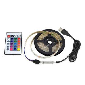 5V-USB-Powered-RGB-LED-Strip-Light-Remote-Control-PCB-TV-Background-Ligh-XGN