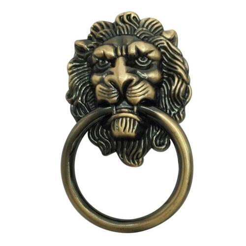 Tête de lion en forme de poignées de porte porte commode armoire tiroir