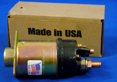 4-Terminal Made in USA NEW STARTER SOLENOID 1115595 Fits  DELCO 42MT  24 Volt