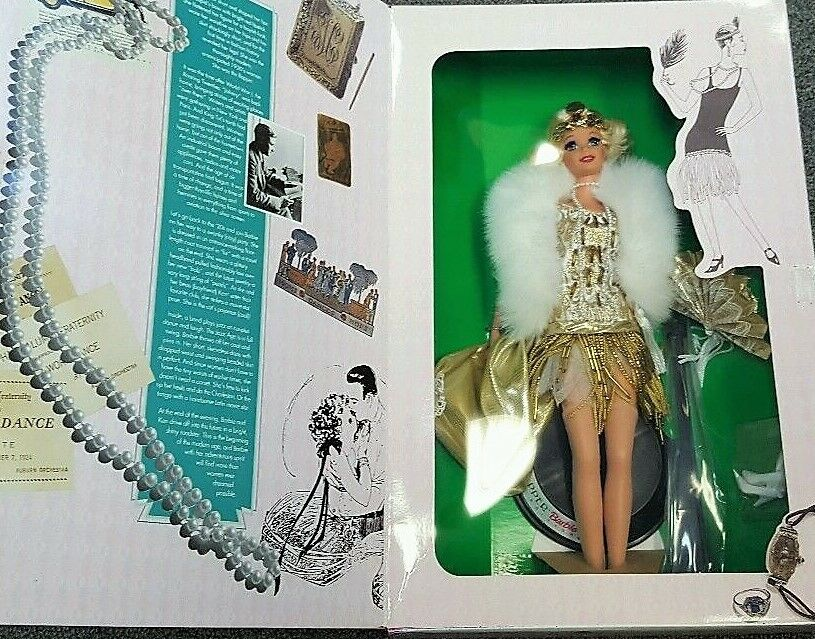 @ - BARBIE   Charleston Flapper    THE GREAT ERAS COLLECTION  1920's  VINTAGE-SCATOLA ORIGINALE  in vendita online