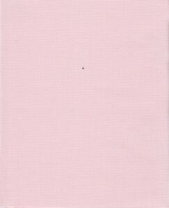 "for cross stitch Sew Easy Aida 14 count White 14/"" x 17.5/"" 36 x 45 cms"