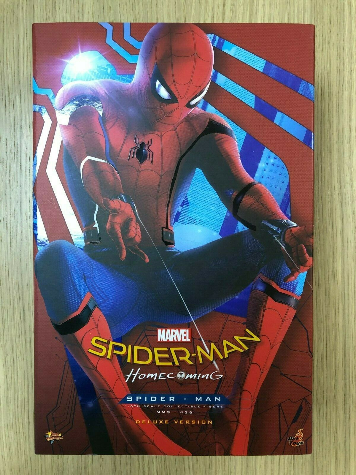 Hot Toys Spiderman Homecoming DELUXE MMS426 Web Attachments loose 1//6th scale