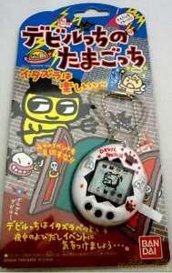 Tamagotchi Devil Deviltchi Devilgotchi Whtie Bandai Pet Toy Rare Used Good Japan