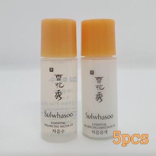 Sulwhasoo Essential Balancing EX 5ml Water (5pcs) + Emulsion (5pcs) Gift