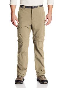 Columbia Mens Silver Ridge Convertible Pant Breathable UPF Pants
