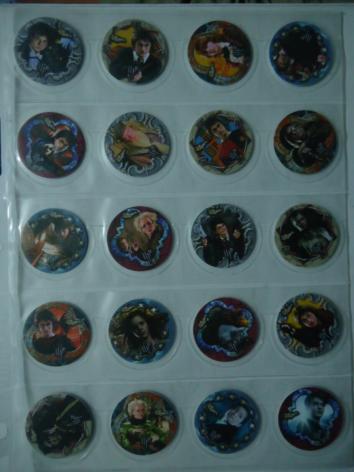 completare COLLECTION 50 TAZOS POGS  HARRY POTTER  il più alla moda