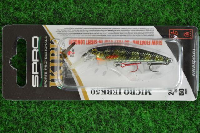 Spro Wobbler Ikiru Micro Jerk 50F  5cm 2,8gr  Kunstköder Japan 13 Varianten