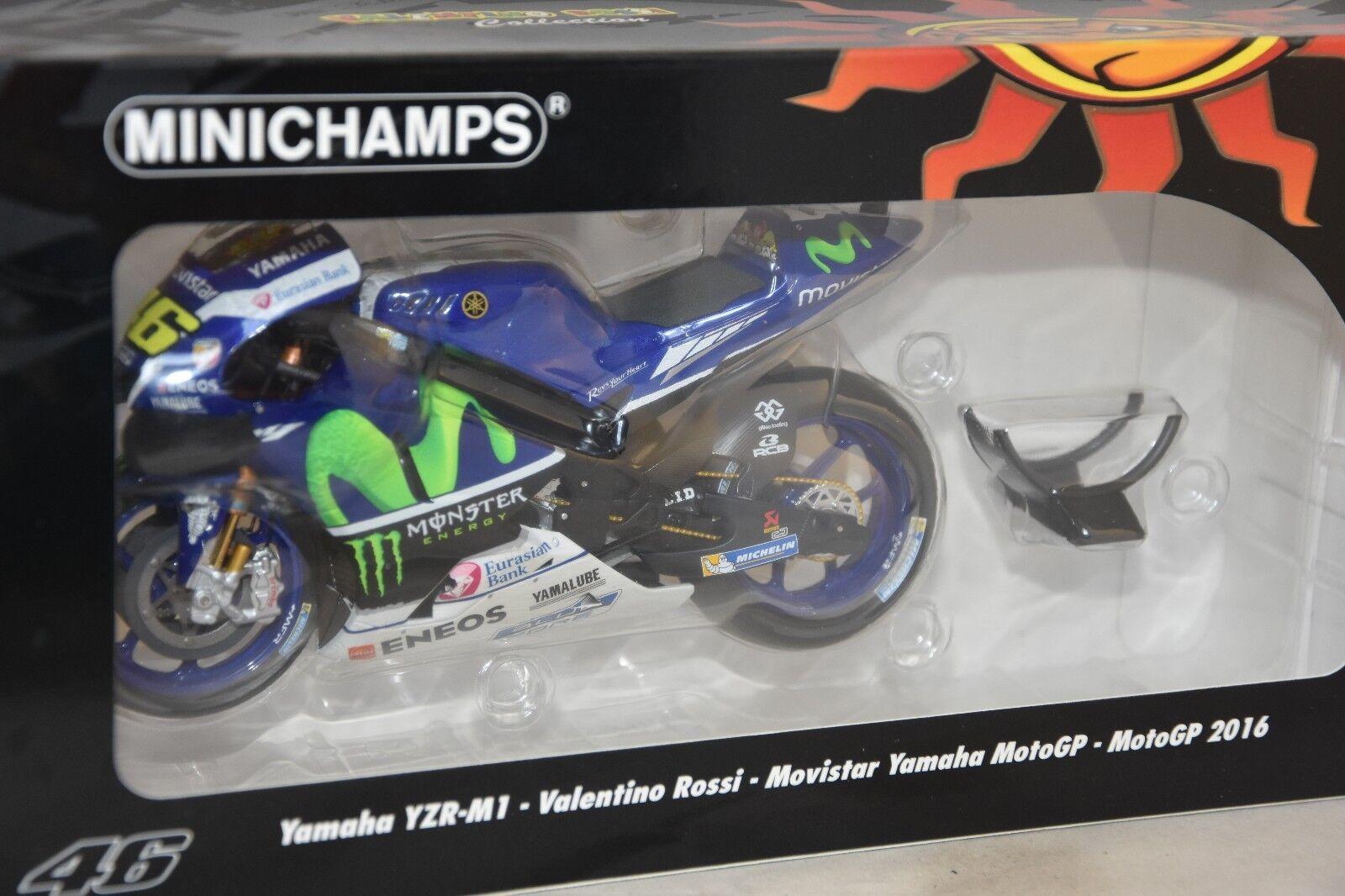 Minichamps 122163046 - YAMAHA YZR M1 MOVISTAR YAMAHA MOTOGP 2016 Rossi 1 12