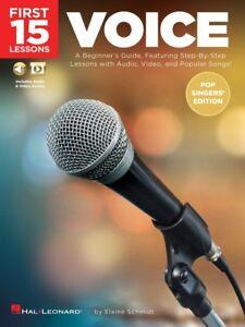 15 Premières Leçons Voix Pop Singers's Edition-a Beginner's Guide 000254122 Neuf-afficher Le Titre D'origine