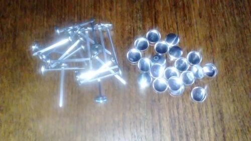20 x No 30 Prong dos boutons en tissu auto couverture tissu//couvrant