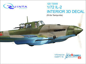 for  7319 Zvezda kits Quinta studio/'s QD7004b 1//72 SU-57 INTERIOR 3D DECAL