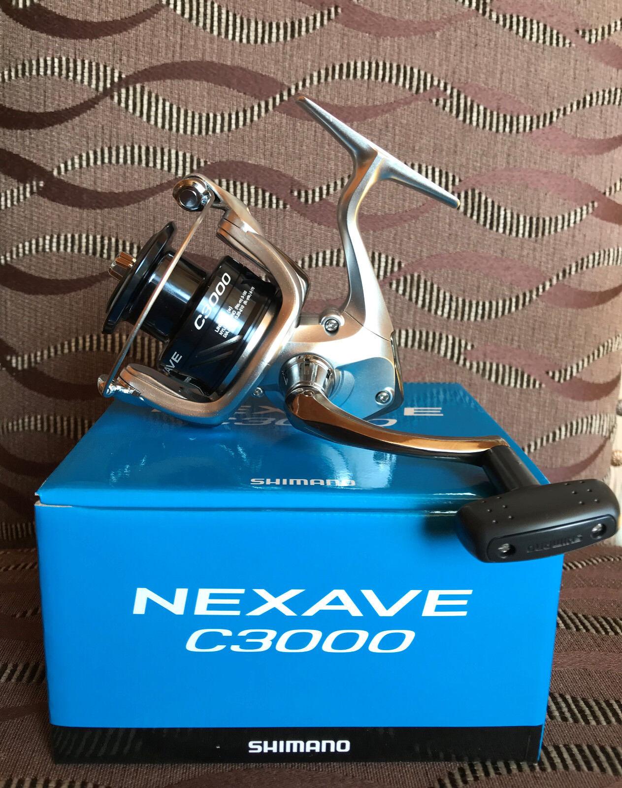 Shimano Nexave Nexave Shimano C3000 FE Spinnrolle 5a9ec8