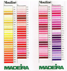 Madeira-Mouline-10M-Stranded-Embroidery-Cotton-Thread-Slow-Stitching-0401-0413