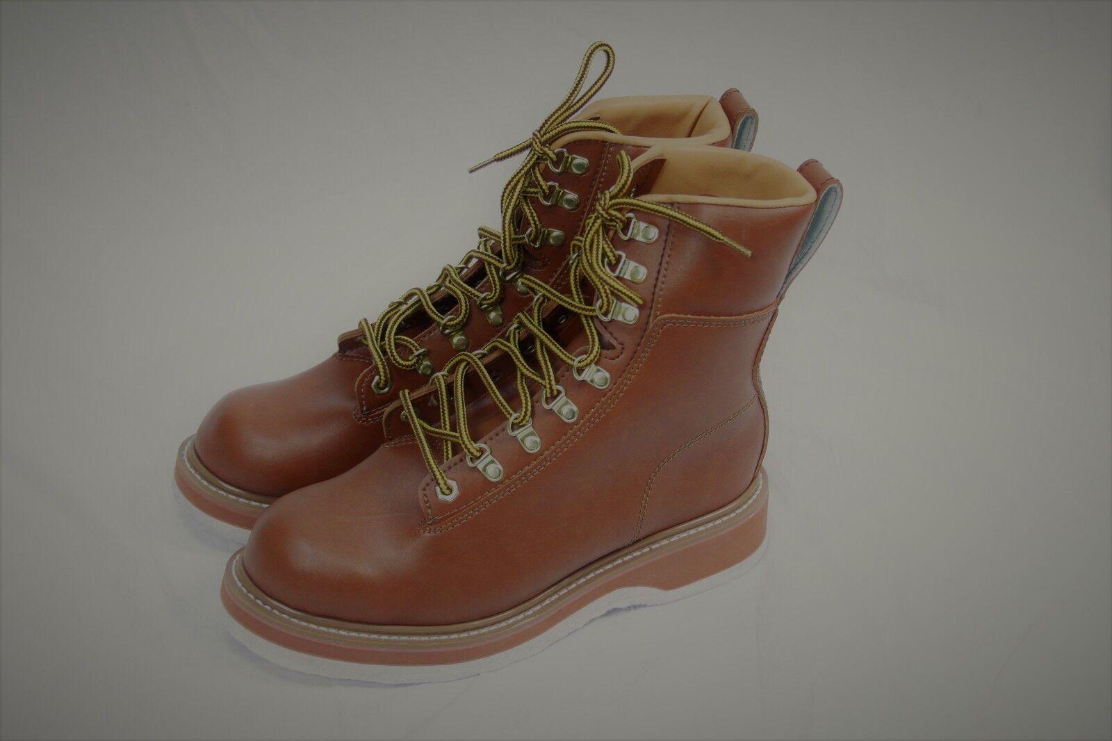 Authentic Cabela's Men's Non Slip brown leather Boots US 9