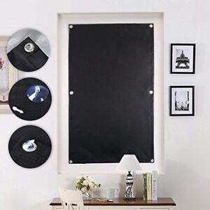 Kinlo Store Pour Fenêtre De Toit 76 X 93 Cm Noir Velux Rideau