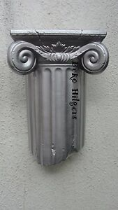 Wandkonsole Stuck Eckregal Ornament Wandbild Konsole Wandregal Ablage Ecke  F70